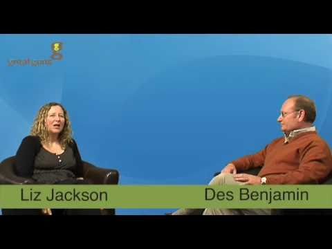 Liz Jackson, MD Great Guns Marketing interviews Des Benjamin, Simplyhealth - Part 1