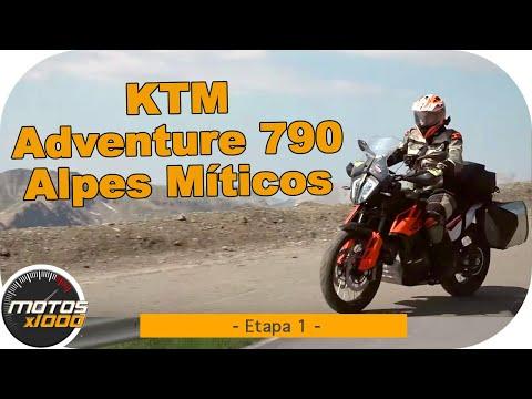 Ruta Alpes Míticos con la KTM Adventure 790 | Etapa 1 | Motosx1000