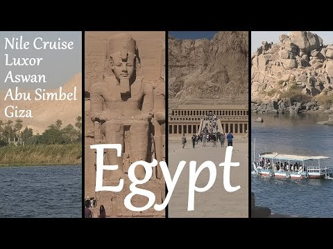 EGYPT: Nile Cruise & Ancient Monuments (Luxor, Aswan, Giza)