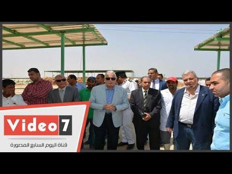 محافظ جنوب سيناء يفتح منفذ لبيع اللحوم للمواطنين بطور سيناء