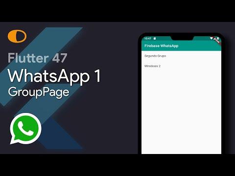 Flutter 47: WhatsApp 1