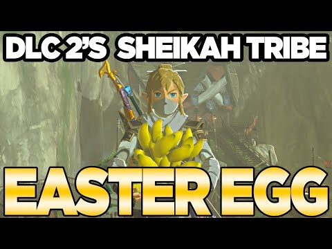 DLC Pack 2's *NEW* Easter Egg with Bananas?!?!?! Zelda Breath of the Wild | Austin John Plays