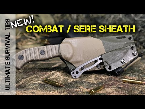 New! HARD-CORE MSK-1 Combat / SERE Knife Sheath -  CHRISTMAS SPECIAL