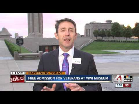 Free admission for veterans at WWI Museum