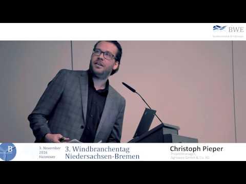 3. Windbranchentag Niedersachsen-Bremen - Christoph Pieper - Energiewende now