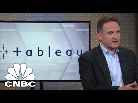 Tableau Software CEO: Streamlining Data Prep   Mad Money   CNBC