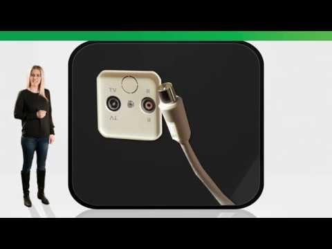 Återanvända antennät/koaxialnät/TV-nät till digital-tv