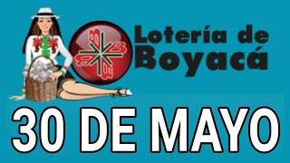 Resultados lotería de Boyaca 30 de Mayo de 2020