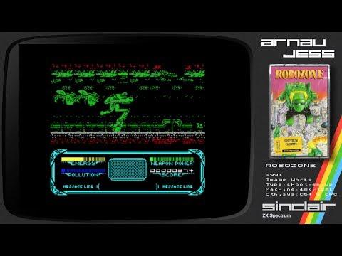 ROBOZONE Zx Spectrum by Image Works
