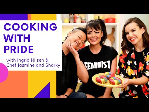 Bringing a Community Together Over Rainbow Donuts | Cooking with Pride