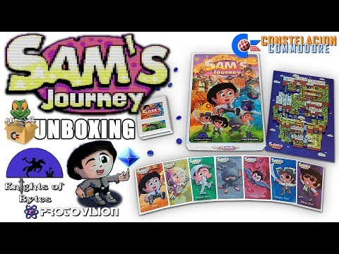 Sam's Journey Edición en Español Unboxing & Gameplay
