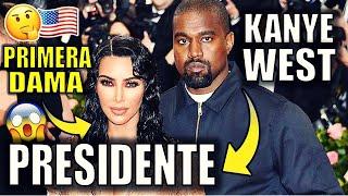 Kanye West se postulará para Presidente de EEUU    Elon Musk lo apoya   Kim Kardashian PRIMERA DAMA