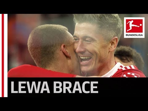 Grey-Haired Lewandowski's Brace in Heynckes' 500th Bundesliga Win