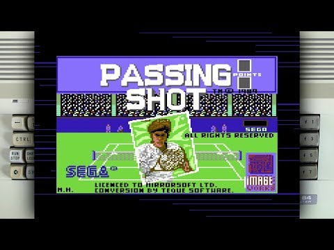 Passing Shot on the Commodore 64