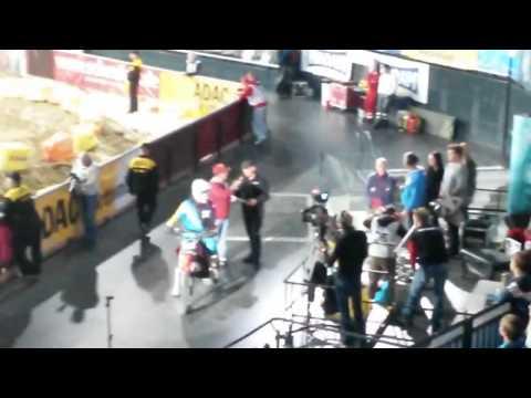 Zero 100% Electric Motorcycles: Interview ADAC Supercross Stuttgart 2014