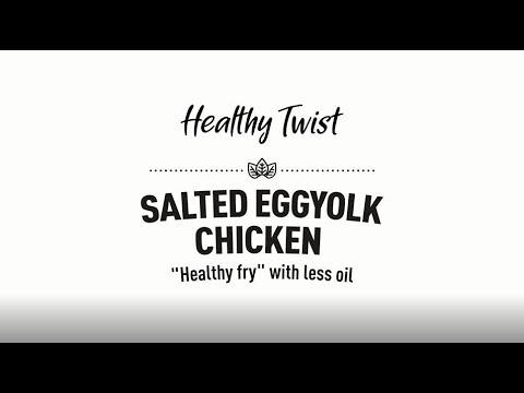 Healthy Twist - Salted egg yolk chicken