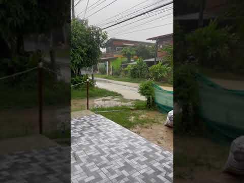 พายุมาแล้ว-ฝนตกทั้งวัน