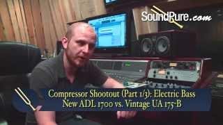 Electric Bass Compressor Shootout: Vintage UA 175-B vs. ADL 1700