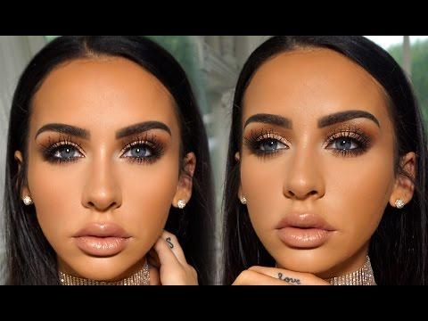 Romantic Fall Date Night Makeup | Carli Bybel