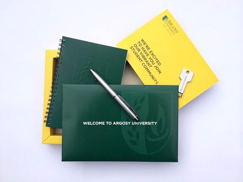 Argosy University Mailer | Cool Custom Printing of the Week