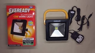 Inside BM Homestores rechargeable LED worklight.