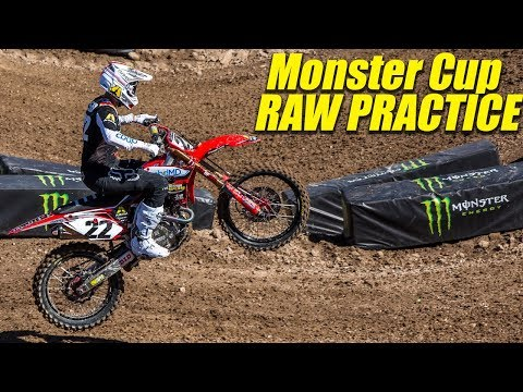 2019 Monster Energy Cup Practice RAW - Motocross Action Magazine