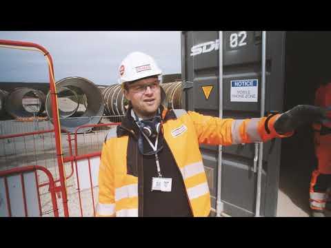 Drilling a Mine Shaft at Lockwood Beck