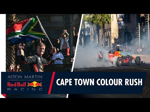 A Cape Town Colour Rush With David Coulthard and the RB7