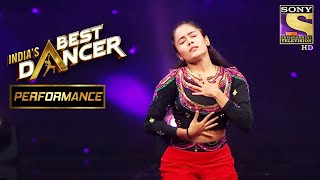 "Shweta's Mesmerising Performance On ""Ang Laga De"" Impresses The Judges 