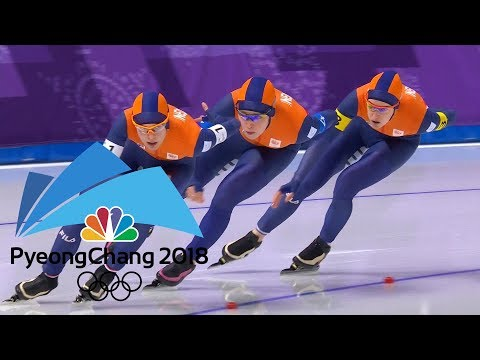 connectYoutube - 2018 Winter Olympics I Ladies' Team Pursuit Speed Skating in 360 VR