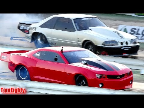 Street Outlaws Drag Racing - Follow me in the pits at Cordova
