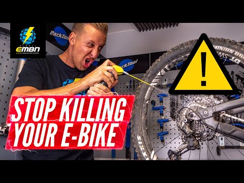 How To Stop Destroying Your E-Bike | Winter E-MTB Maintenance Mistakes