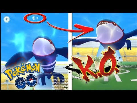 connectYoutube - ¡COMO GANAR a KYOGRE SOLO 3 ENTRENADORES en Pokémon GO! [Keibron]