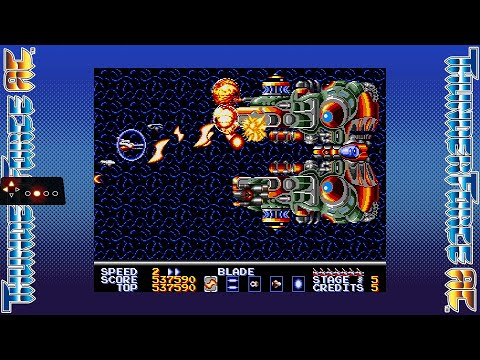 SEGA AGES Thunder Force AC (Switch) - Dual longplay (Styx + Rynex) 1cc