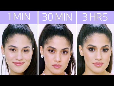 Ariana Grande's Look in 1 Minute, 30 Minutes, and 3 Hours - Makeup Challenge | Allure