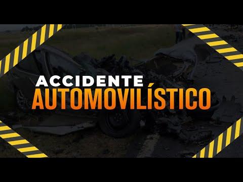 Se registró un accidente en la ruta al Atlántico