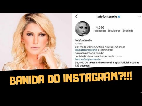 ANTONIA FONTENELLE FOI BANIDA DO INSTAGRAM?!!!
