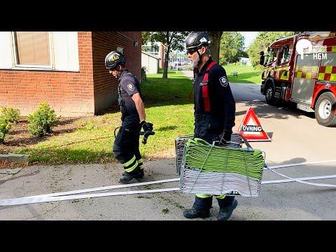 I samarbete med Räddningstjänsten