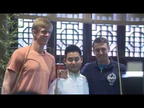 Anderson And Millman Attend Chengdu Tea Party