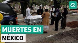 México   Grave alza en fallecimientos por coronavirus