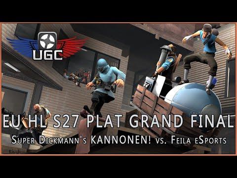 UGC HL S27 Plat Grand Final: Super Dickmann's KANNONEN! vs. Feila eSports