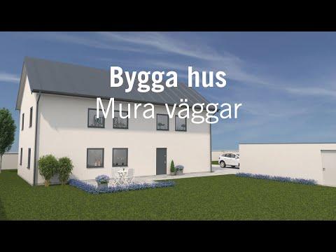 Bygga hus – Mura väggar