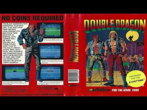 DOUBLE DRAGON Atari 2600 by Activision
