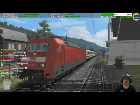 BLXT 55EuroCity from Paris  vR BR101  Train Simulator 2017