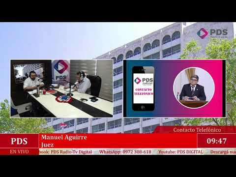 Estuvimos en comunicación con Manuel Aguirre - Juez