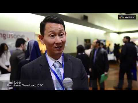ICBC Recruitment Team Lead shares thoughts on the success of MOSAIC's Career & Job fair