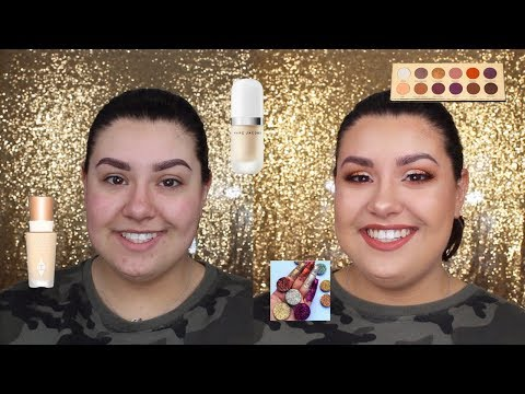 connectYoutube - Full Face of First Impressions - CHARLOTTE TILBURY, GLITTER INJECTIONS, MARC JACOBS | Celina Pereira