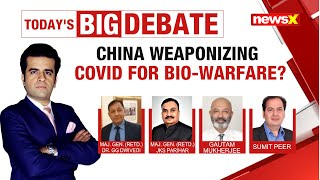 China weaponising Covid for Bio-Warfare? | NewsX - NEWSXLIVE