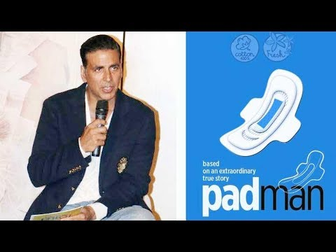 Akshay Kumar: 91% Of Indian Women Don't Use Sanitary Pads!