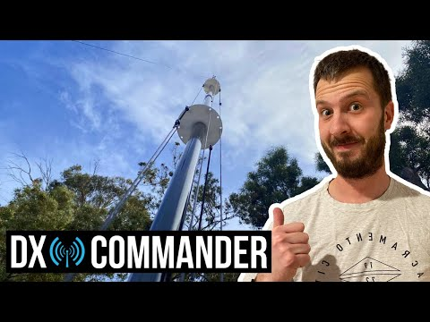 DX Commander All Band Vertical HF Antenna Build & Review